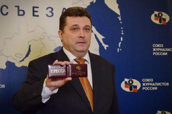Опубликовано программное интервью председателя СЖР Владимира Соловьева