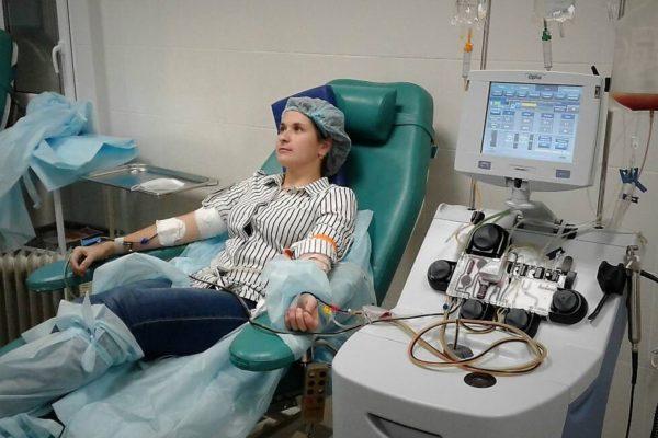 Журналист из Юрьи стала донором клеток костного мозга