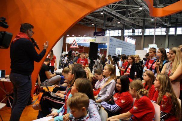 Юные журналисты из Кировской области приняли участие в пресс-центре ММСО