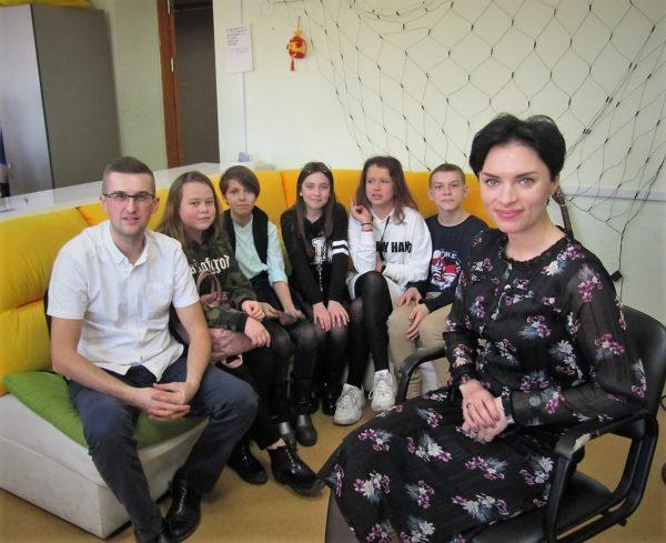 По ту сторону экрана. Слободские гимназисты побывали на «Первом городском»