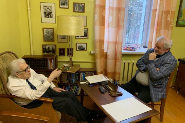 Ветерану журналистики М.И. Кощееву 90 лет
