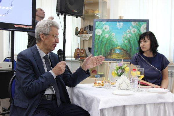 Кировские журналисты встретились с президентом Вятской ТПП Николаем Липатниковым
