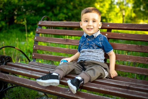 В Кировской области идет сбор на самый дорогой укол в мире для маленького Степана Заплаткина